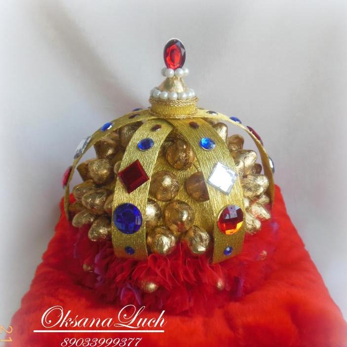рекламную корона из конфет своими руками пошаговое фото кумкват